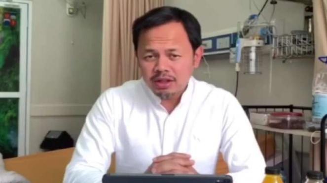 Wali Kota Bogor Bima Arya sedang menjalani perawatan sebagai pasien corona.