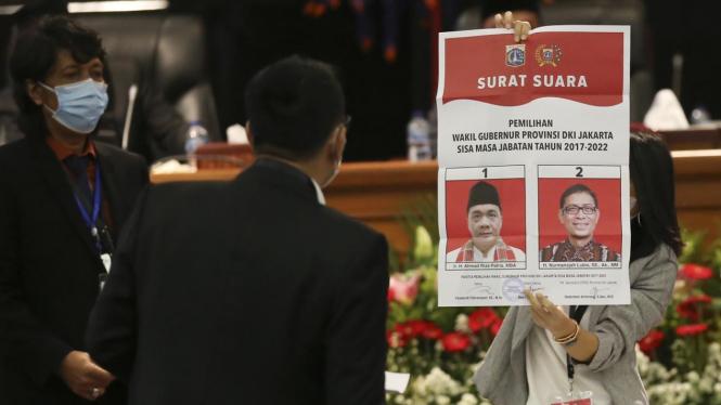 Ahmad Riza Patria Terpilih Jadi Wakil Gubernur DKI Jakarta