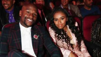 Mayweather dan anak perempuannya Iyanna