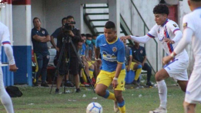 Duel Real Madriz vs Managua.