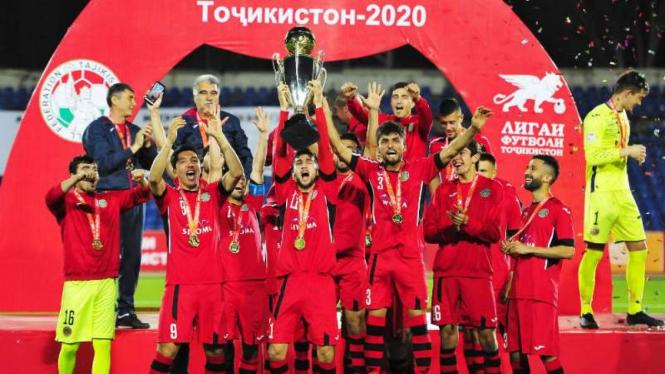 Istiklol juara Tajik Super Cup 2020.