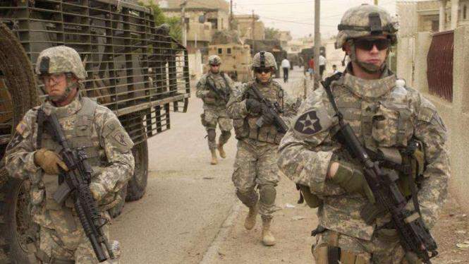 VIVA Militer: Personel militer AS di Irak