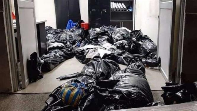 Nasib Mayat-mayat di Kota Terhoror COVID-19, Kini Numpuk di Kulkas RS