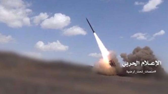 VIVA Militer: Rudal Qassam Militer Yaman