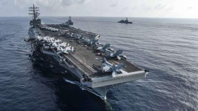 VIVA Militer: Kapal Induk Amerika Serikat, USS Ronald Reagan