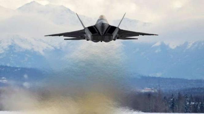 VIVA Militer: Pesawat tempur siluman Amerika Serikat, F-22 Raptor