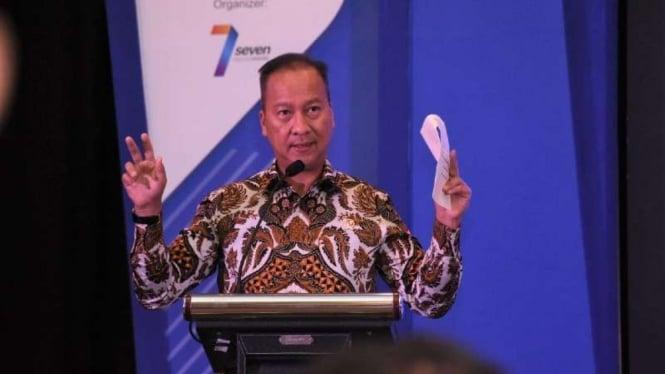 Menteri Perindustrian Agus Gumiwang Kartasasmita.