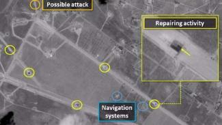 VIVA Militer: Kondisi Bandara Suriah setelah dibombardir Israel.