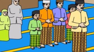 Ilustrasi orang salat (foto/islam.nu.or.id)