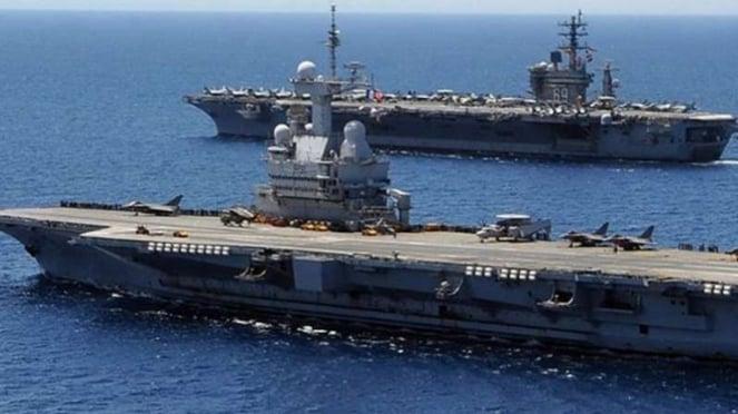 VIVA Militer: Kapal Induk Nuklir Charles de Gaulle