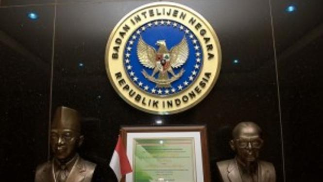 Logo Badan Intelijen Negara (BIN).