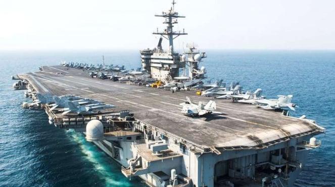 VIVA Militer: Kapal Induk Amerika Serikat, USS Theodore Roosevelt
