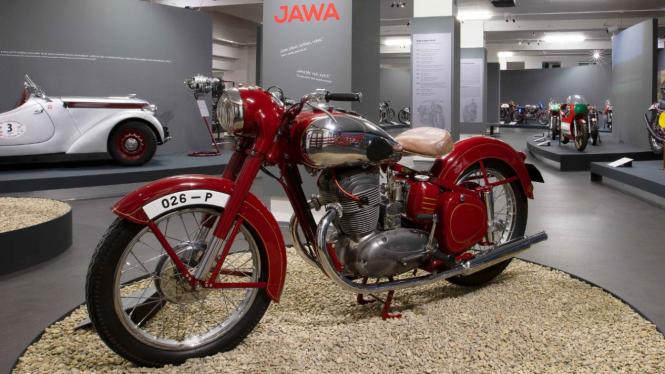 Ilustrasi motor klasik