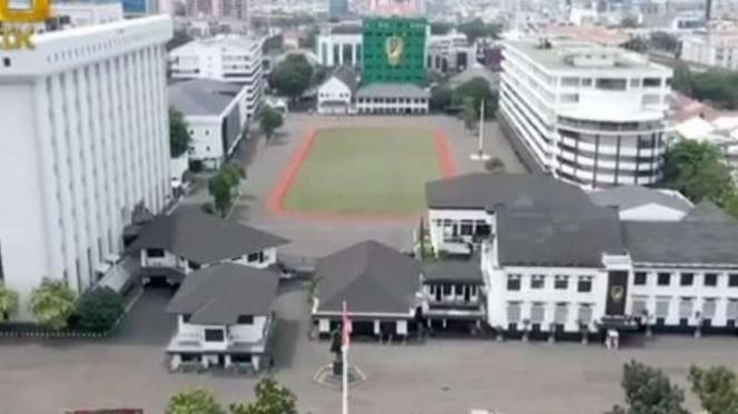 VIVA Militer: Taman Mabes TNI AD