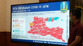 Jawa Timur Masih Jadi Penyumbang Kasus Positif COVID-19 Terbanyak