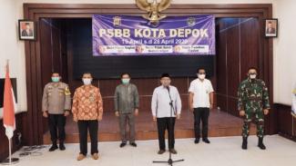 Kota Depok mulai berlakukan PSBB