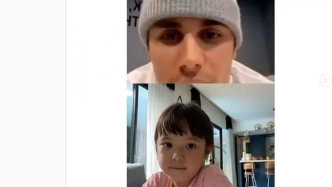 Justin Bieber dan Gempi