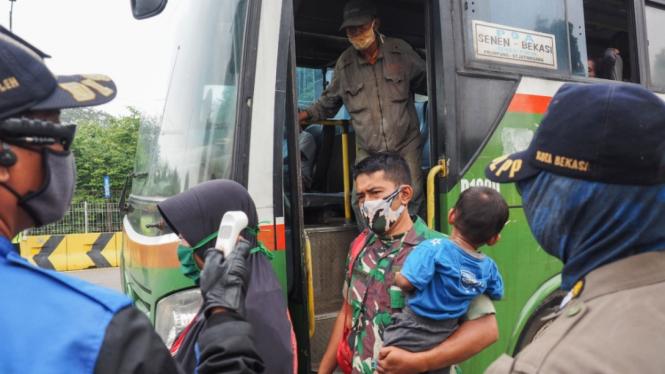 Penerapan PSBB di Bogor, Depok, Bekasi