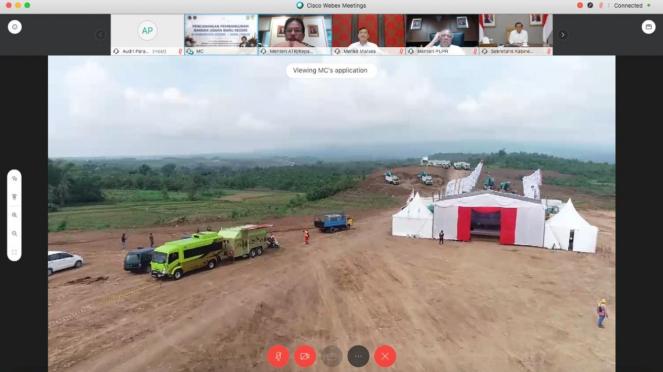 Luhut resmikan Bandara Kediri secara virtual