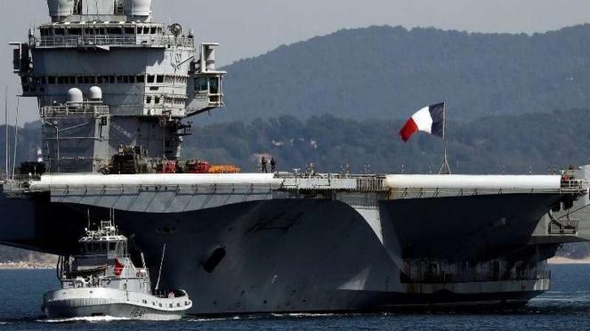 VIVA Militer: Kapal Induk Prancis, Charles de Gaulle