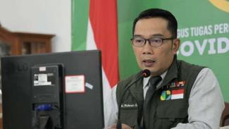 Ridwan Kamil Jadi Relawan Uji Klinis Vaksin COVID-19 Buatan China