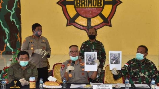 Tim gabungan TNI Polri tindak tegas KKB Papua