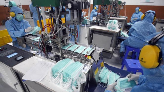 Pabrik Masker Medis di Bogor