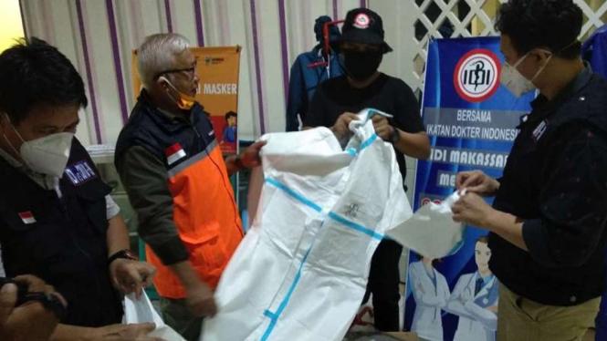 Bakrie Group membantu tenaga medis