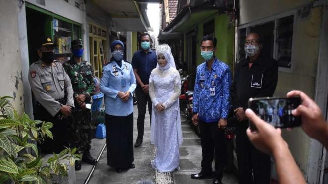 Mantan napi wanita di Malang menikah usai dapat asimilasi