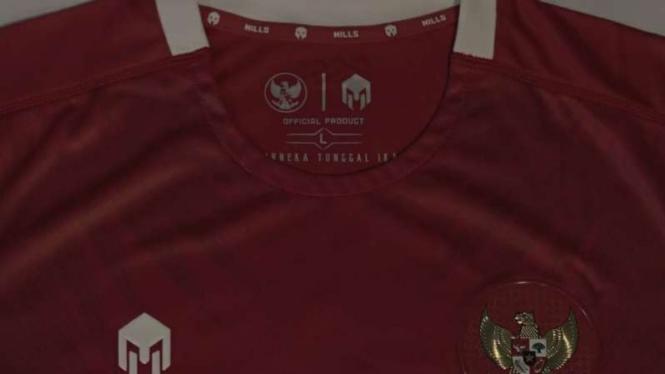 Jersey kandang timnas Indonesia