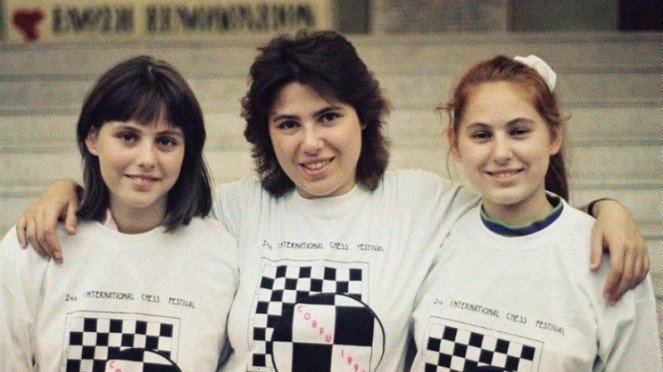 Juara catur, Polgar bersaudara.