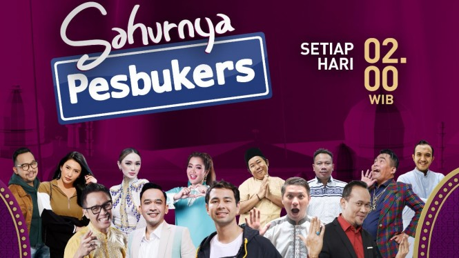 Sahurnya Pesbukers ANTV