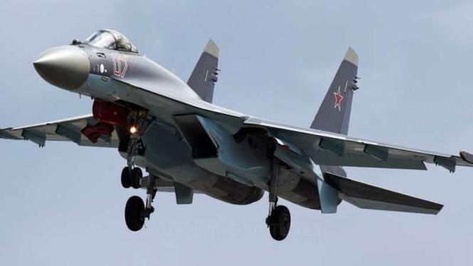 VIVA Militer: Pesawat Tempur SU-23 milik Rusia