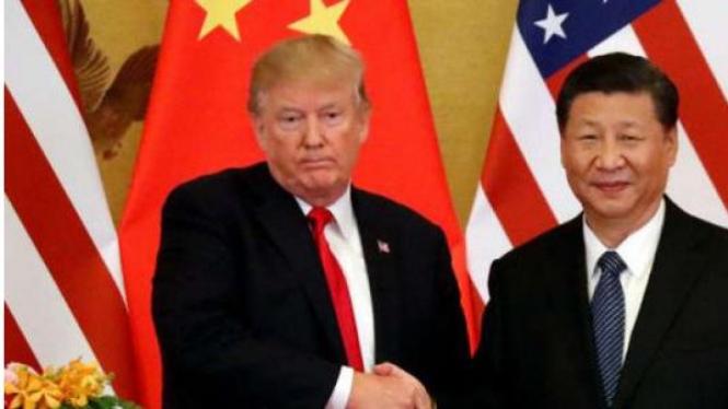 Presiden Amerika Serikat tuduh China penyebar virus corona.