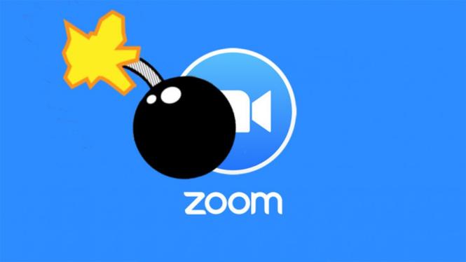 Zoombombing.