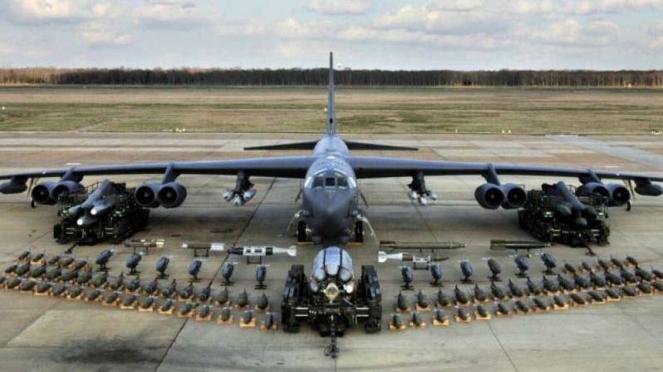 VIVA Militer: Pesawat Pembom Amerika Serikat (AS), B-52 Stratofortress