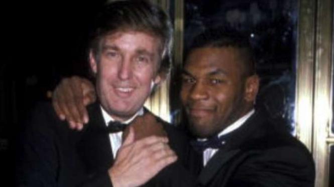 Donald Trump dan Mike Tyson