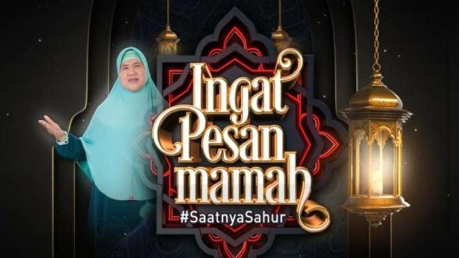 Program Ramadhan tvOne bersama Mamah Dedeh.