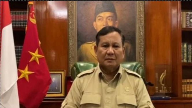 Prabowo Subianto (Foto/Twitter/Prabowo)