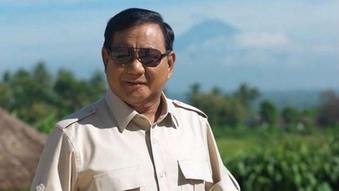 VIVA Militer: Menteri Pertahanan Prabowo Subianto.