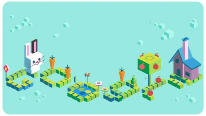 Google Doodle Coding untuk anak.