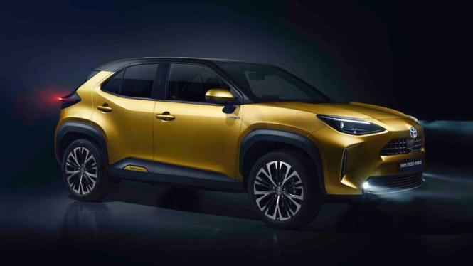Toyota Yaris versi Crossover tampil perdana