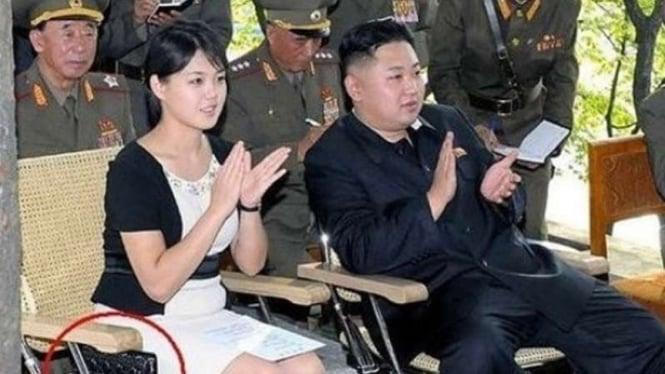 Ri Sol Ju dan Kim Jong Un