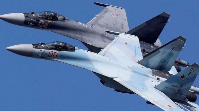VIVA Militer: Jet tempur Rusia, Sukhoi Su-35 Flanker-E