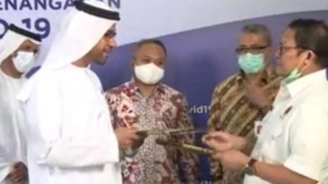 Arab Saudi beri bantuan untuk Indonesia
