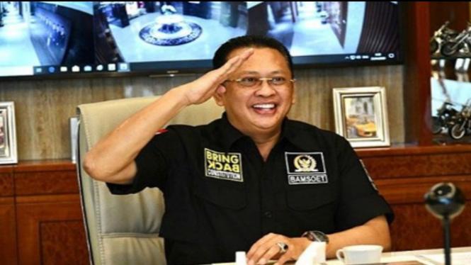 Ketua MPR RI Bambang Soesatyo (Foto/Instagram/Bamsoet)