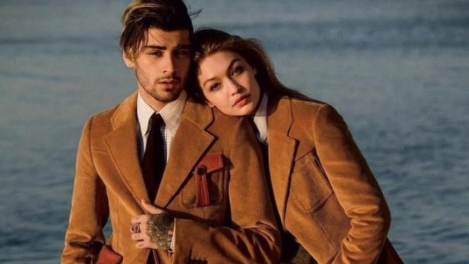 Zayn Malik dan Gigi Hadid.