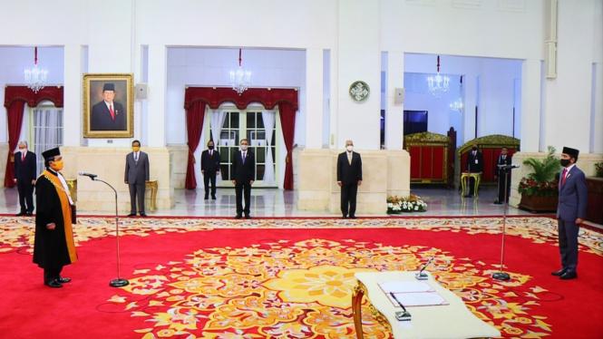 M Syarifuddin dilantik menjadi Ketua MA