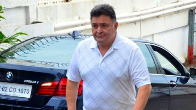 Aktor Bollywood senior Rishi Kapoor