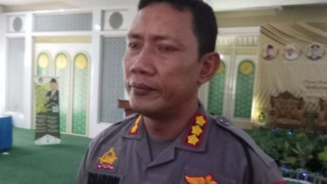 Kapolresta Pontianak Kota Komisaris Besar Polisi Komarudin